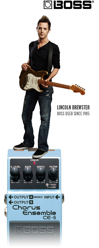 Lincoln Brewster Autographed Pedal Giveaway