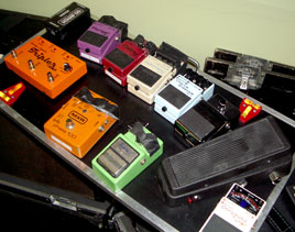 Duffy's Pedalboard (Photo)