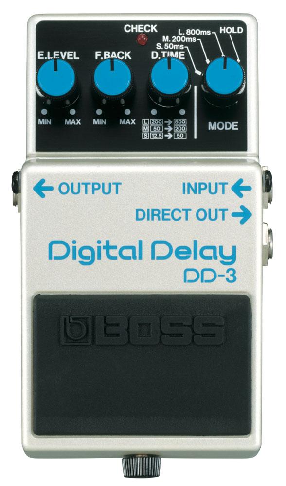 History of BOSS Delay: DD-3