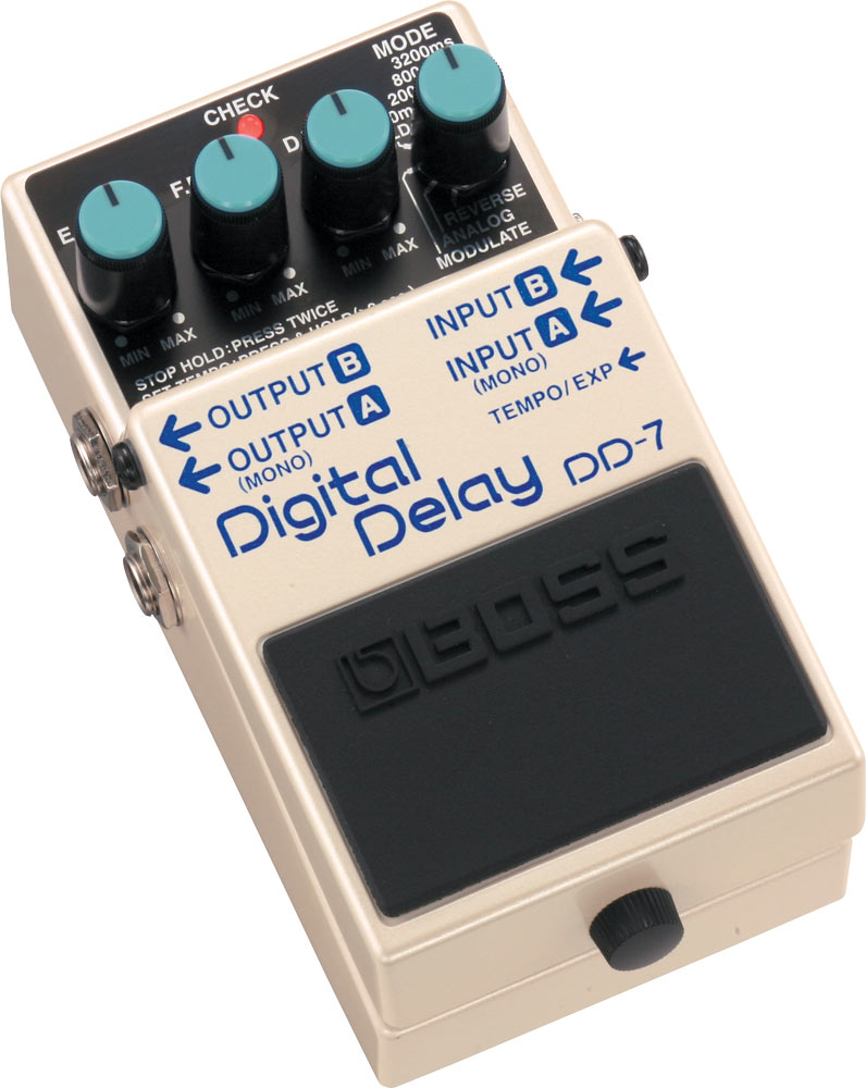 History of BOSS Delay: DD-7