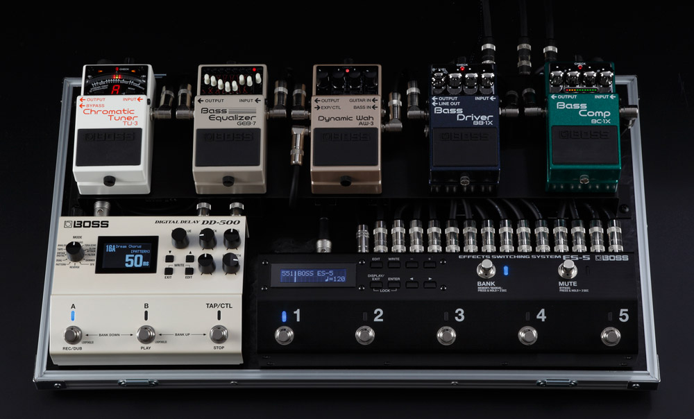 ES-5 Effects Switching System Bass Pedalboard