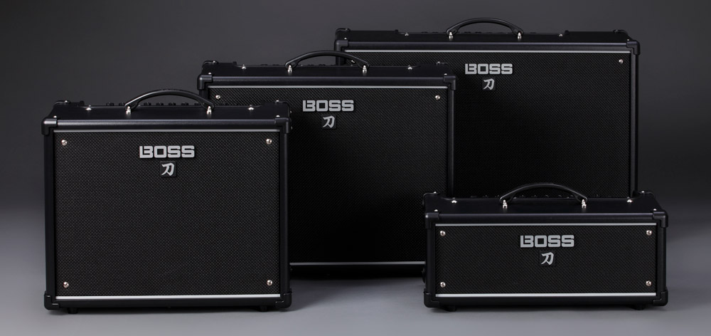 New BOSS Katana Guitar Amps