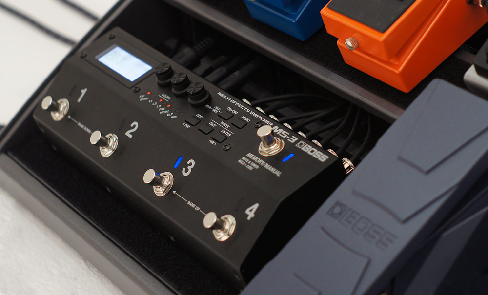 Introducing the BOSS MS-3 Multi Effects Switcher